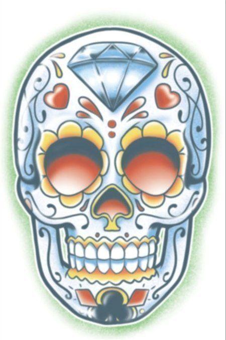 Day Of The Dead Tattoo  - El Jugador