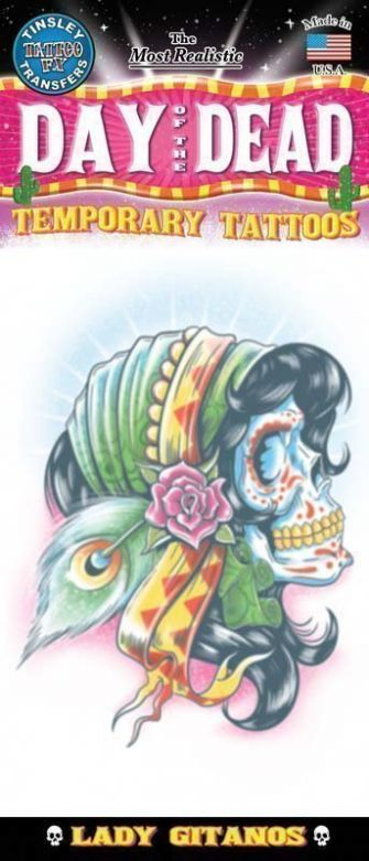 Day Of The Dead Tattoo - Lady Gitanos