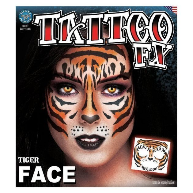 Costume Face Kits - Tiger