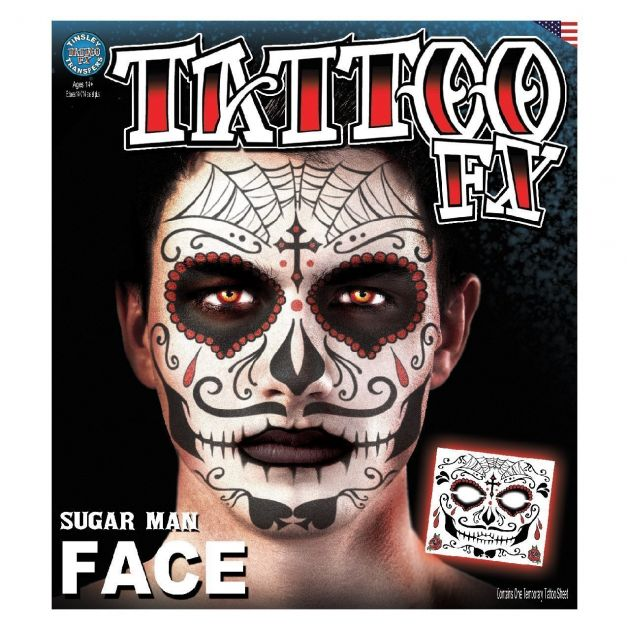 Costume Face Kits - Sugar Man