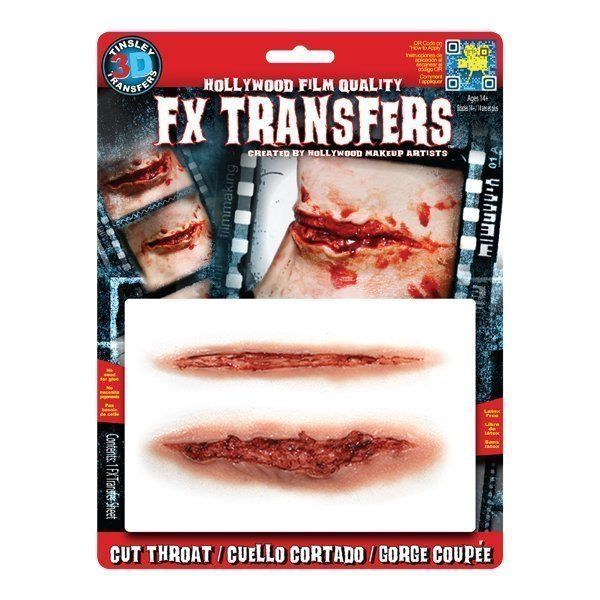 Large 3D FX Transfers - Cut Throat