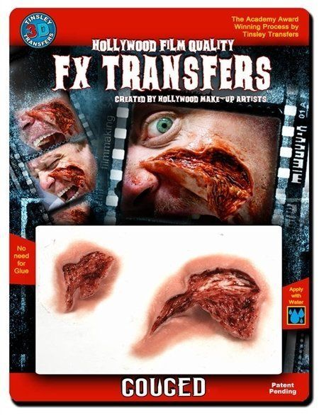 Large 3D FX Transfers - Gouged