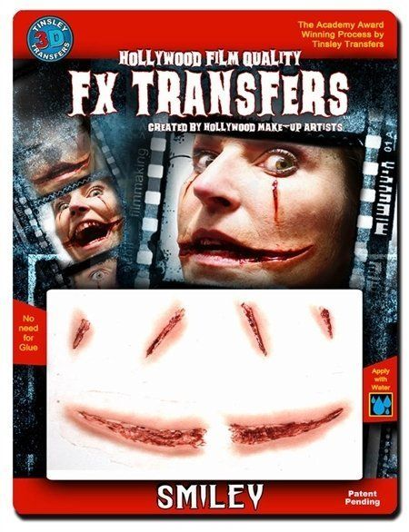 Large 3D FX Transfers - Smiley