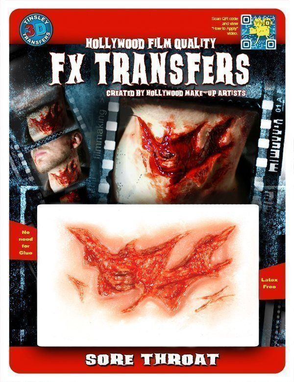 3D FX Transfers - Sore Throat