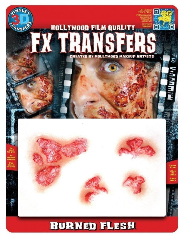 Large 3D FX Transfers - Burned Flesh