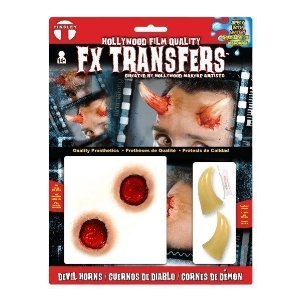 Large 3D FX Transfers - Devil Horns