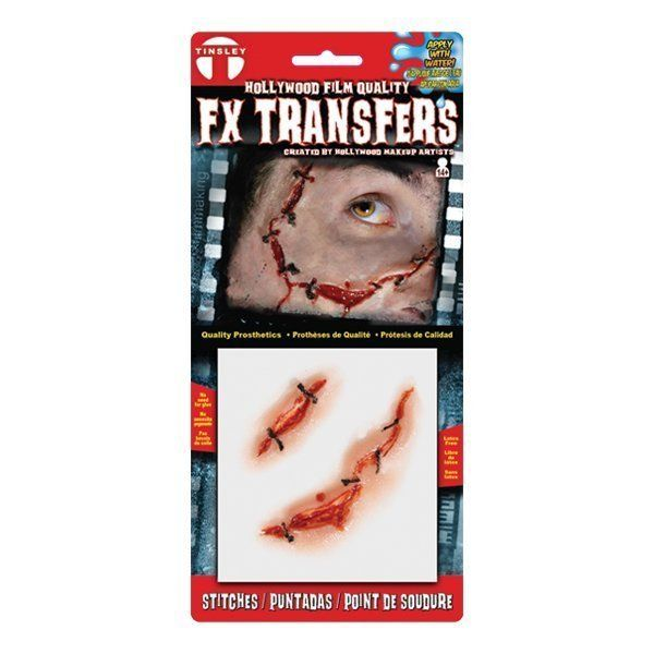 Small 3D FX Transfers - Stitches
