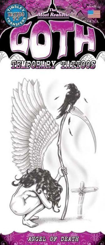 Gothic Tattoo - Angel Of Death