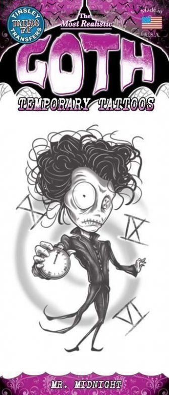 Gothic Tattoo - Mr. Midnight