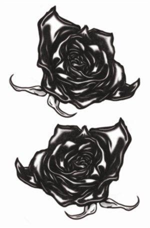 Goth Tattoos - Black Roses
