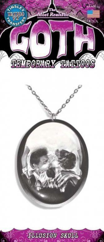 Gothic Tattoo - Illusion Skull
