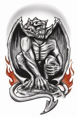 Goth Tattoos - Gargoyle