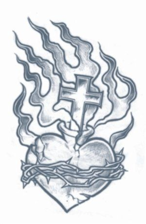 Prison Tattoos - Heart