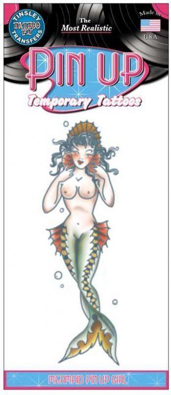 Pin Up Tattoos - Mermaid Girl
