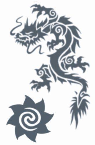 Tribal Tattoos - Tribal Dragon