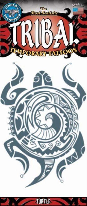 Tribal Tattoos - Turtle