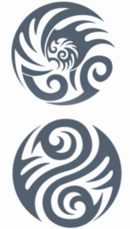 Tribal Tattoos - Circles