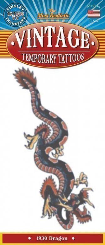 Vintage Tattoos - Dragon 1930