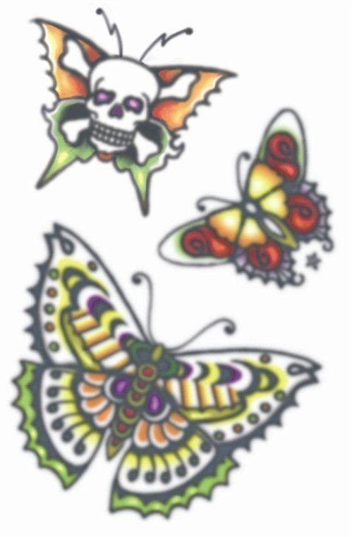 Vintage Tattoos - Butterflies 1960