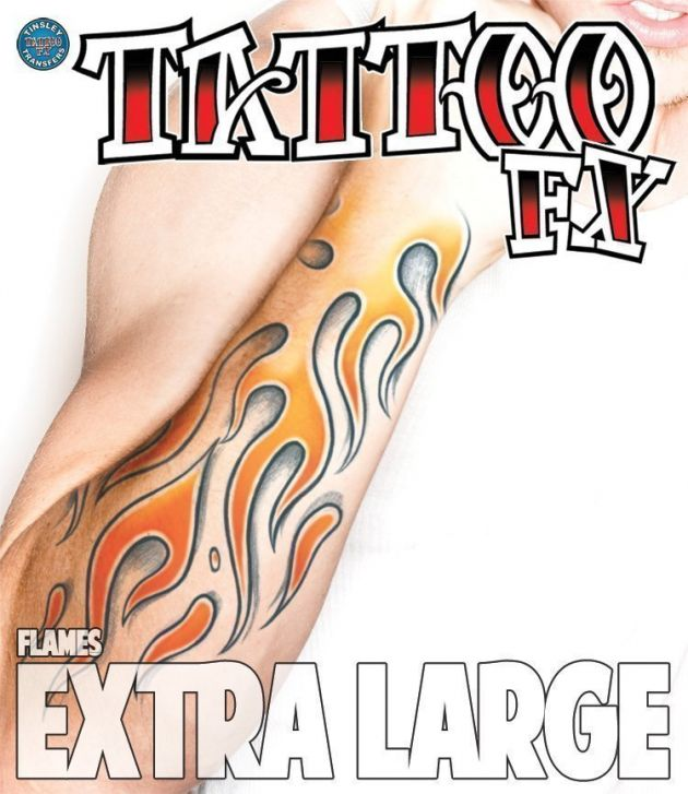 XL  Tattoo FX - Flames