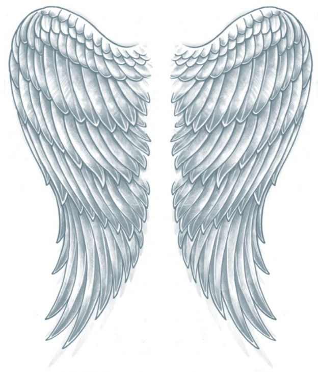 XL  Tattoo FX - Wings