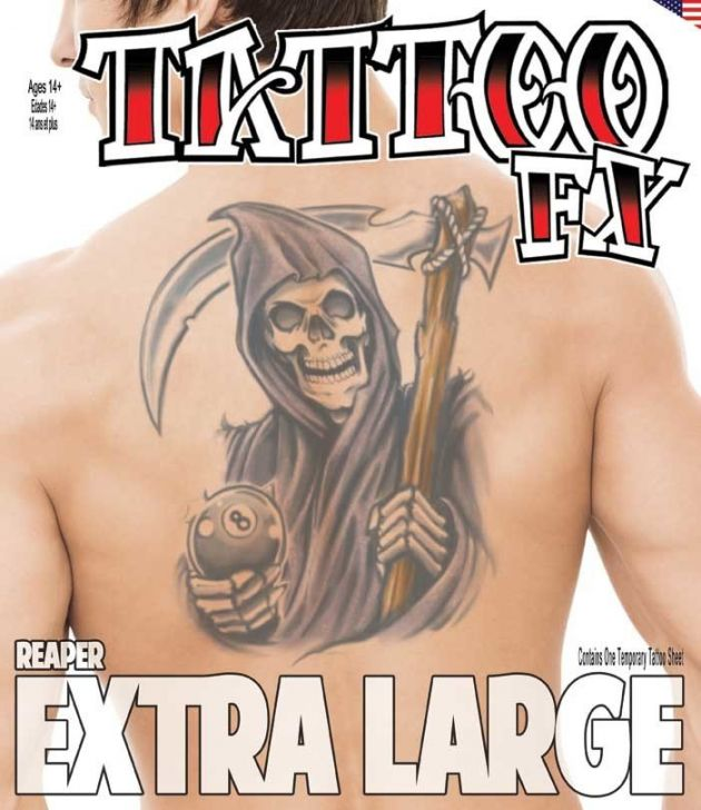 XL  Tattoo FX - Reaper