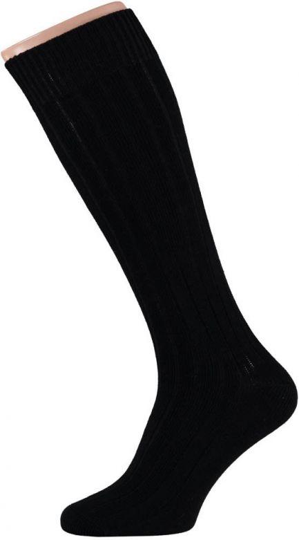 Carnaval Soccer Socks Black (Size 36-41) / 36-41