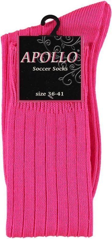 Carnaval Soccer Socks Fluor Pink / 36-41
