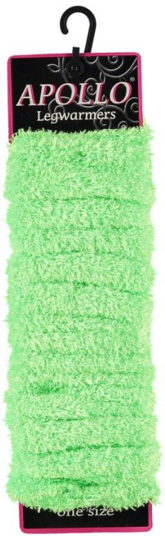Carnaval Softy Legwarmers Fluor Green