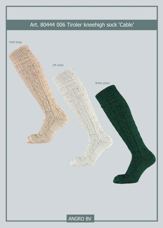 Knee socks Off White / 39-42