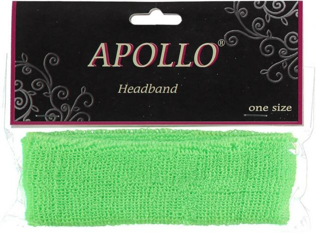 Carnaval Head-Band Neon Green