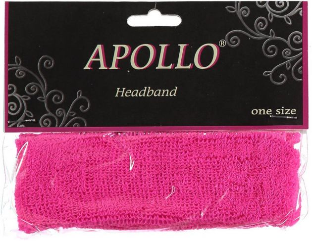 Carnaval Head-Band Neon Pink