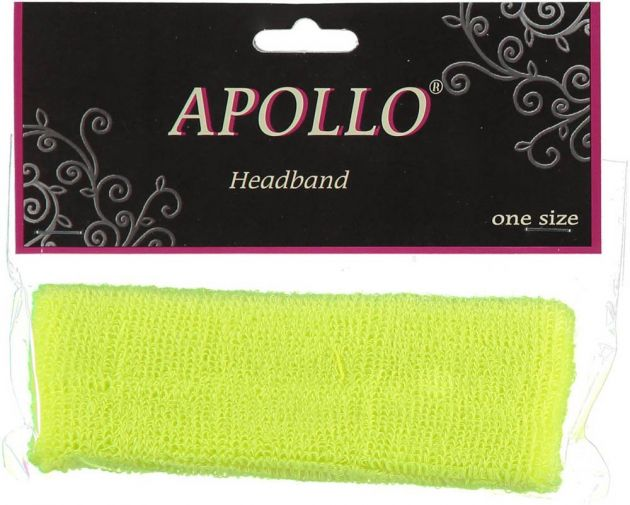 Carnaval Head-Band Neon Yellow