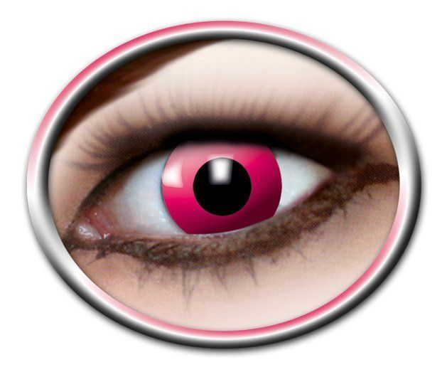 Pink Manga Lenses - 3 Months