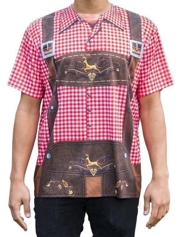 Lederhose T-shirt traditional